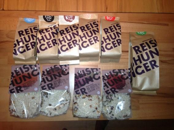 Reishunger Paket