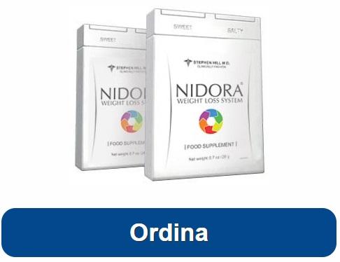 ordina Nidora e perdi peso subito