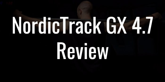 Nordictrack GX47 review