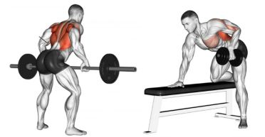 5 Best Exercises for Back Bent Over Rows