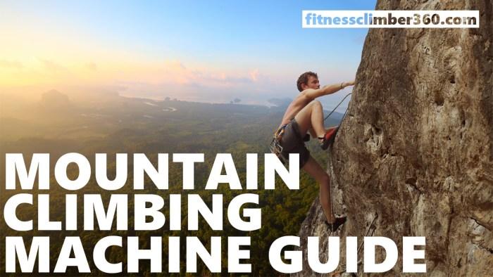 Mountain climbing machine