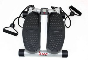 Sunny's Silver Twisting Stair Stepper