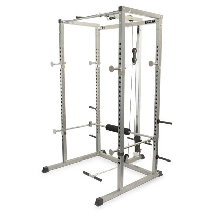 BD 7 power rack with lat attachment review