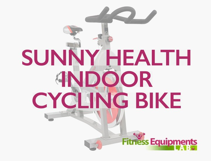 Sunny Health Fitness Pro Indoor Cycling Bike