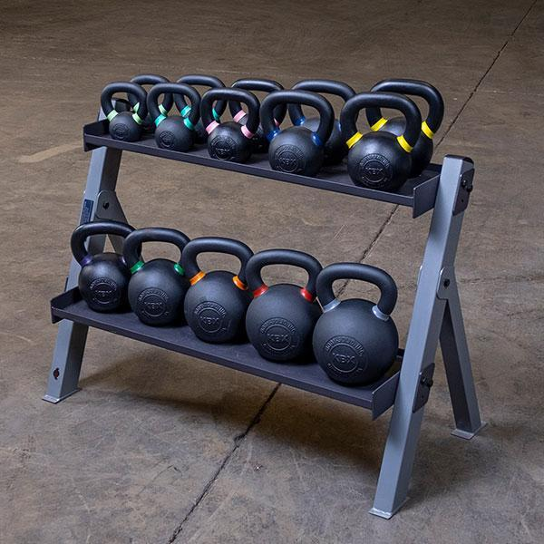 body solid 3 tier dumbbell weight rack