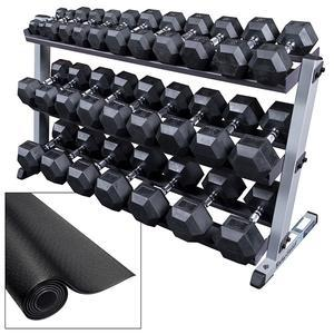 free weights sets barbells