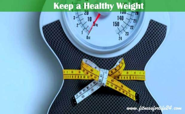 Keep a Healthy Weight