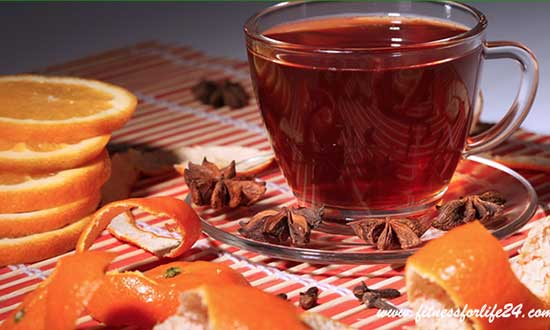 Orange Rind Tea