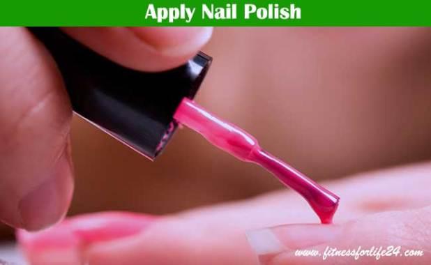 Apply Nail Polish