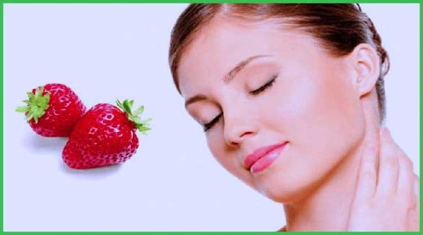 strawberries for skin care