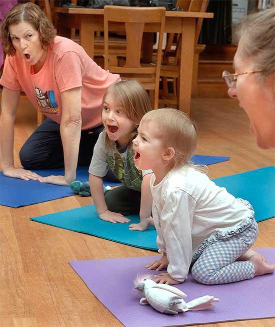 Lion Kids Yoga