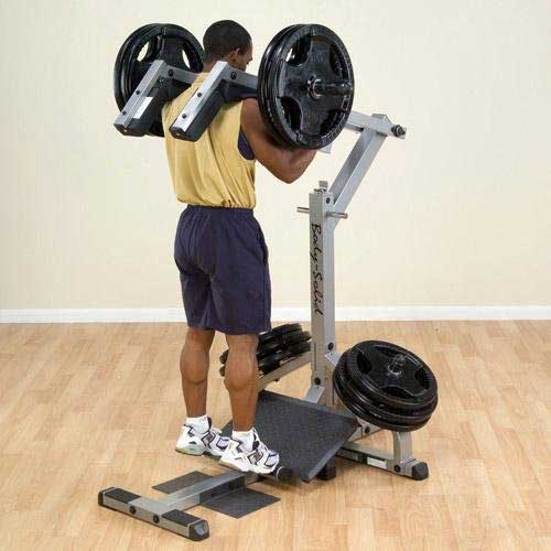Body Solid Leverage Squat Machine 187 Fitness Gizmos
