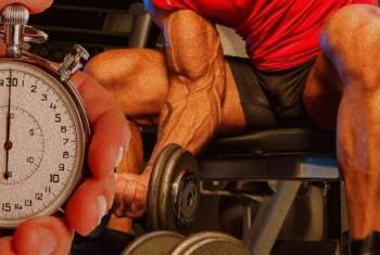5 Ways to Intensity Your Home Workout - Decrease Rest Time Between Sets