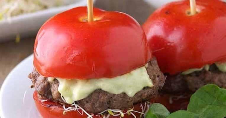 Tomaten-Avocado Burger 8