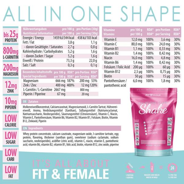All-In-One Shape Shake 2