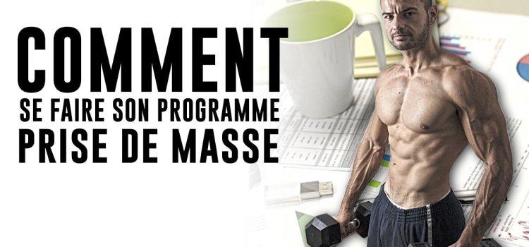 🔒 Création programme prise de masse | Formation