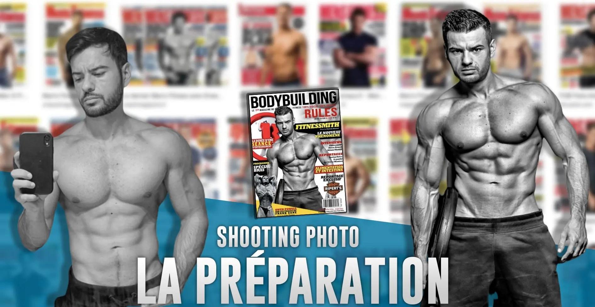 comment se preparer pour shooting photo