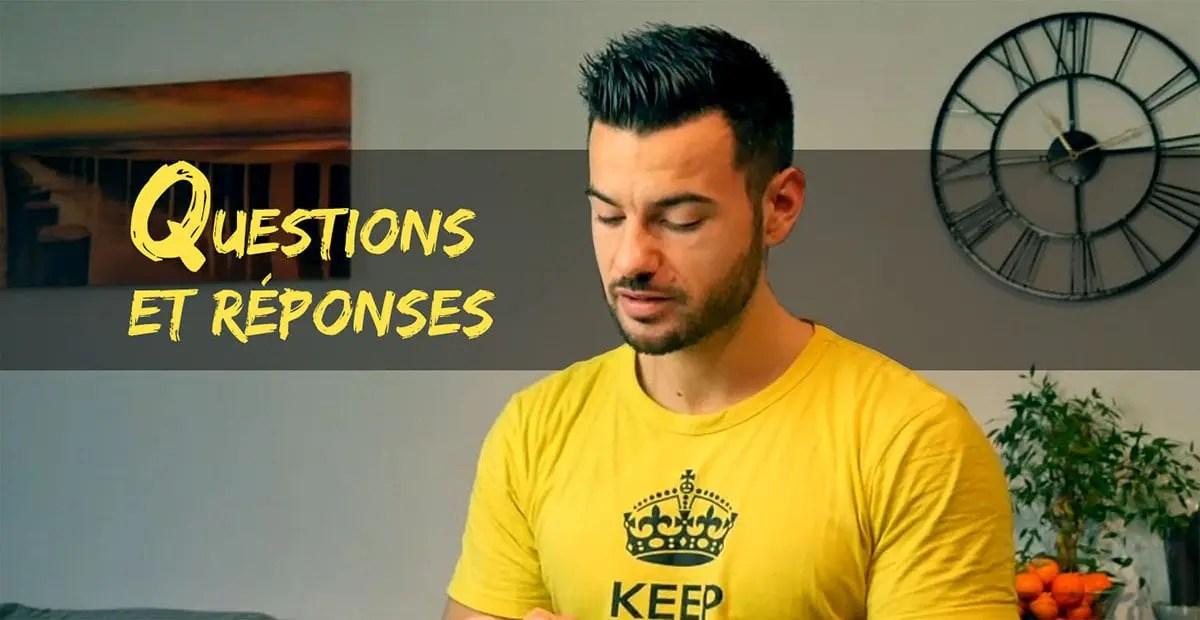 FAQ 1 : abdos, cardio à jeun, vêtements, glucides et énergie, etc.