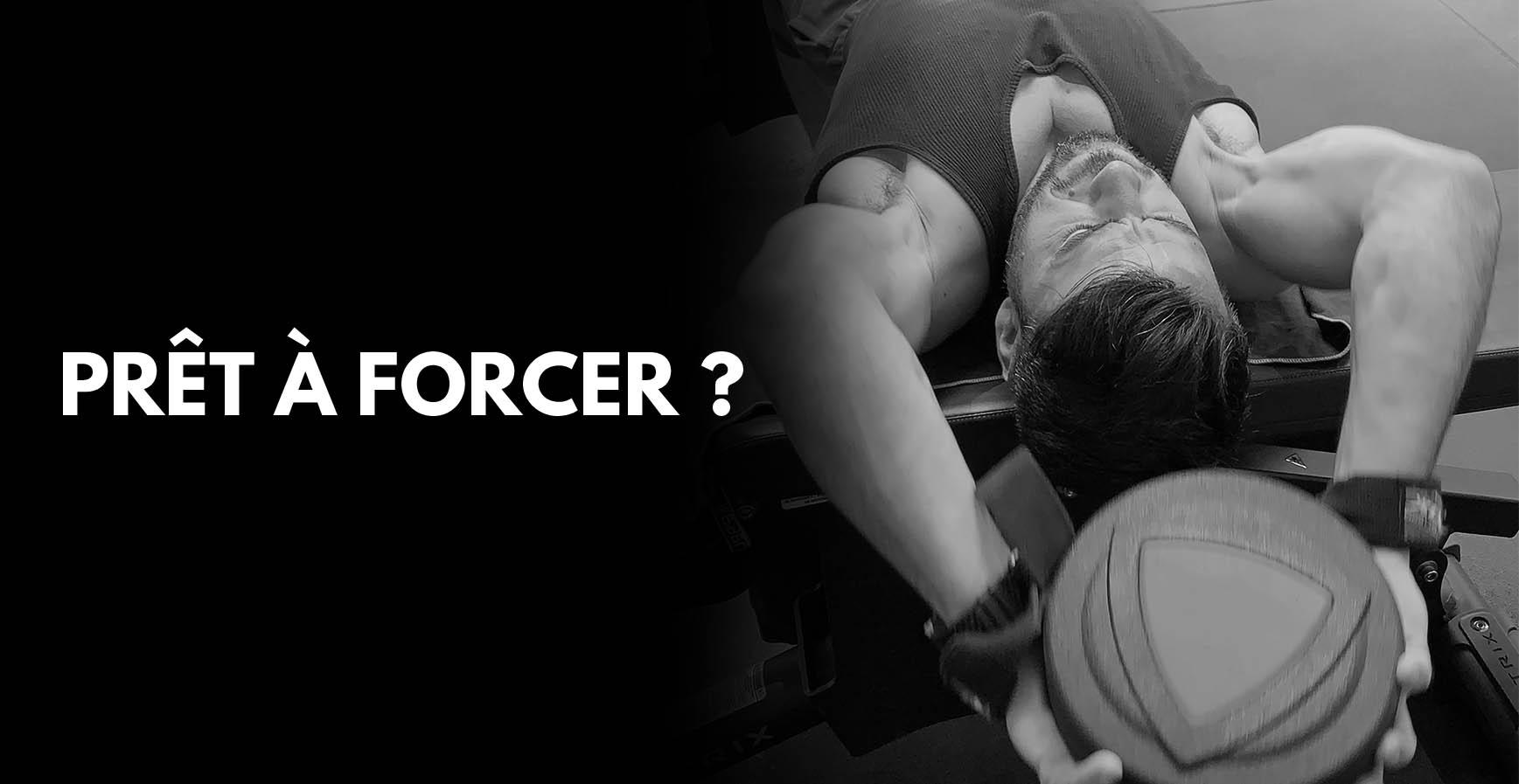 Apprendre à forcer en musculationet être intense