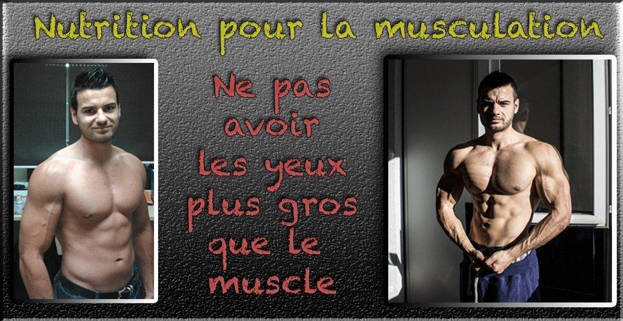 la nutrition pour le muscle