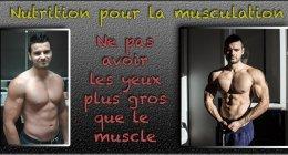 Apprendre la nutrition pour la musculation naturelle