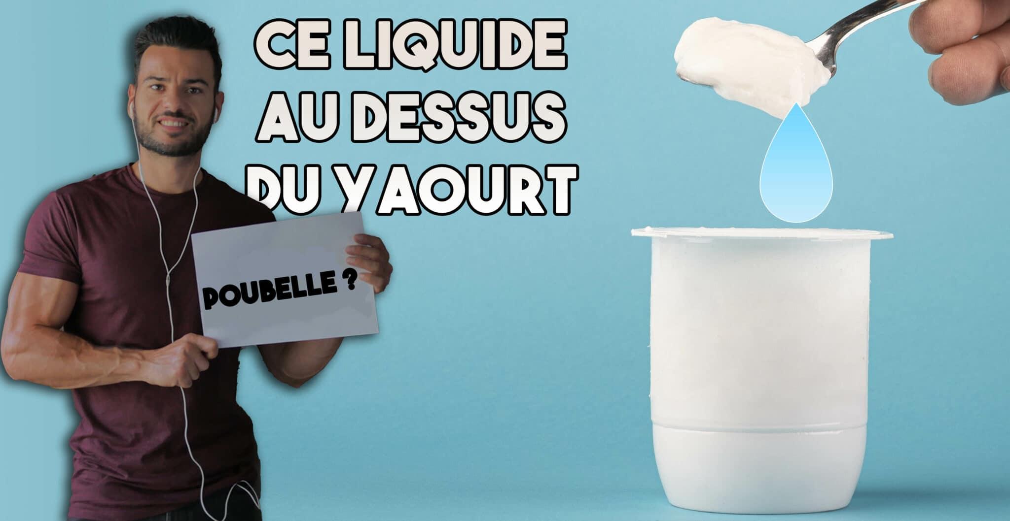 petit lait au dessus yaourt