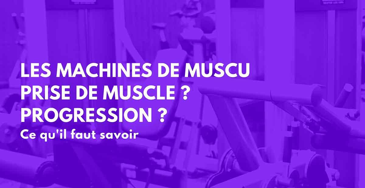 machine musculation
