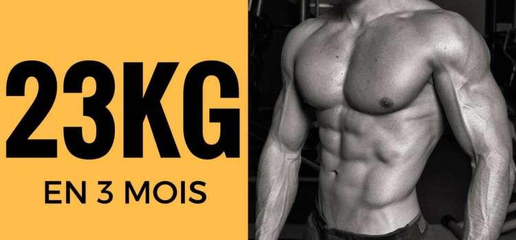 🔒 Comment perdre 23kg en 3 mois - Formation