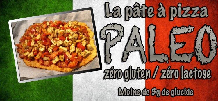 Pizza paleo : recette fitness de pâte à pizza