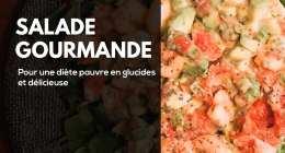 Recette fitness de salade gourmande et sportive