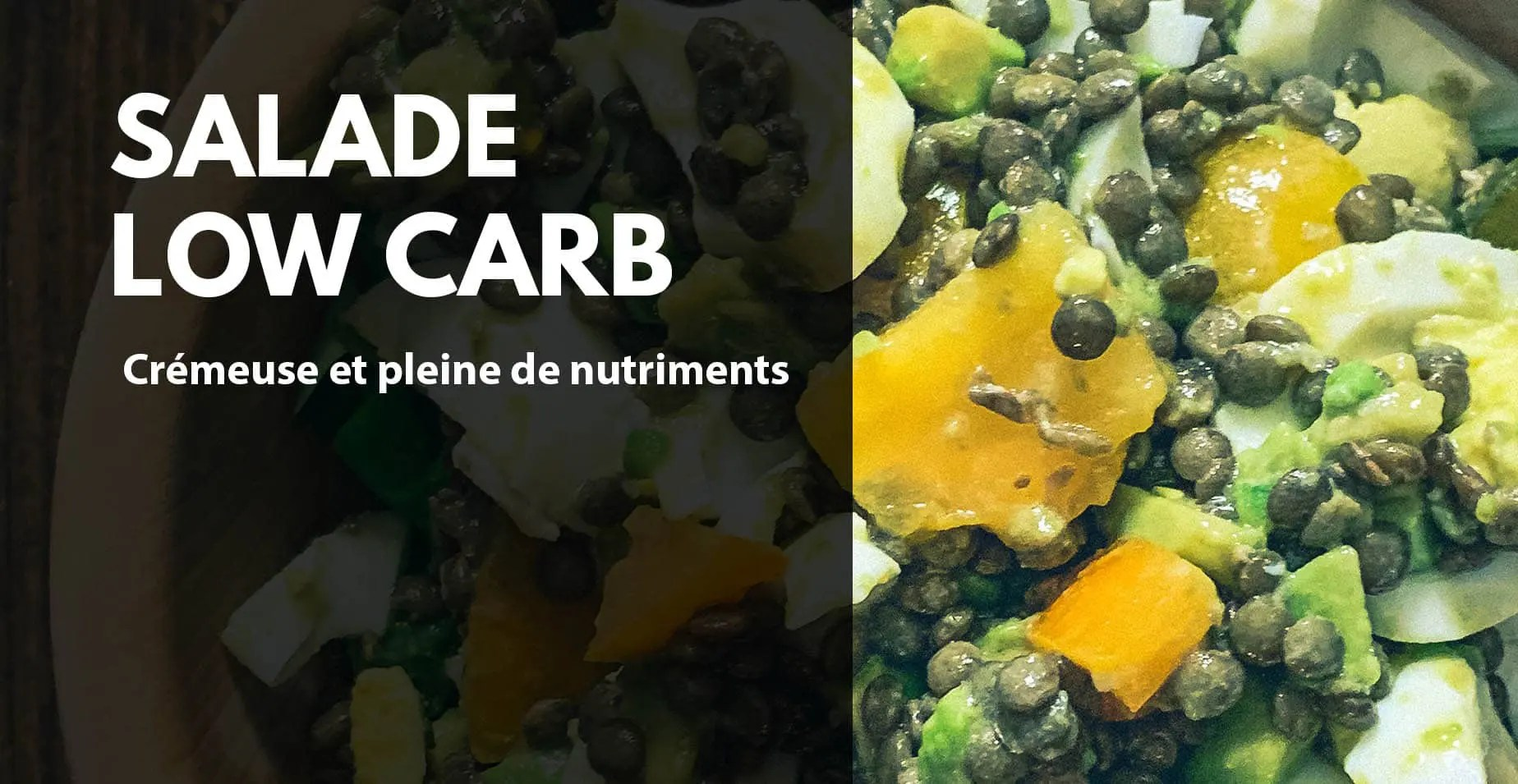 Salade fitness low carb musculation