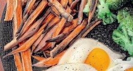 Recette fitness : frites de patates douces light sans graisses