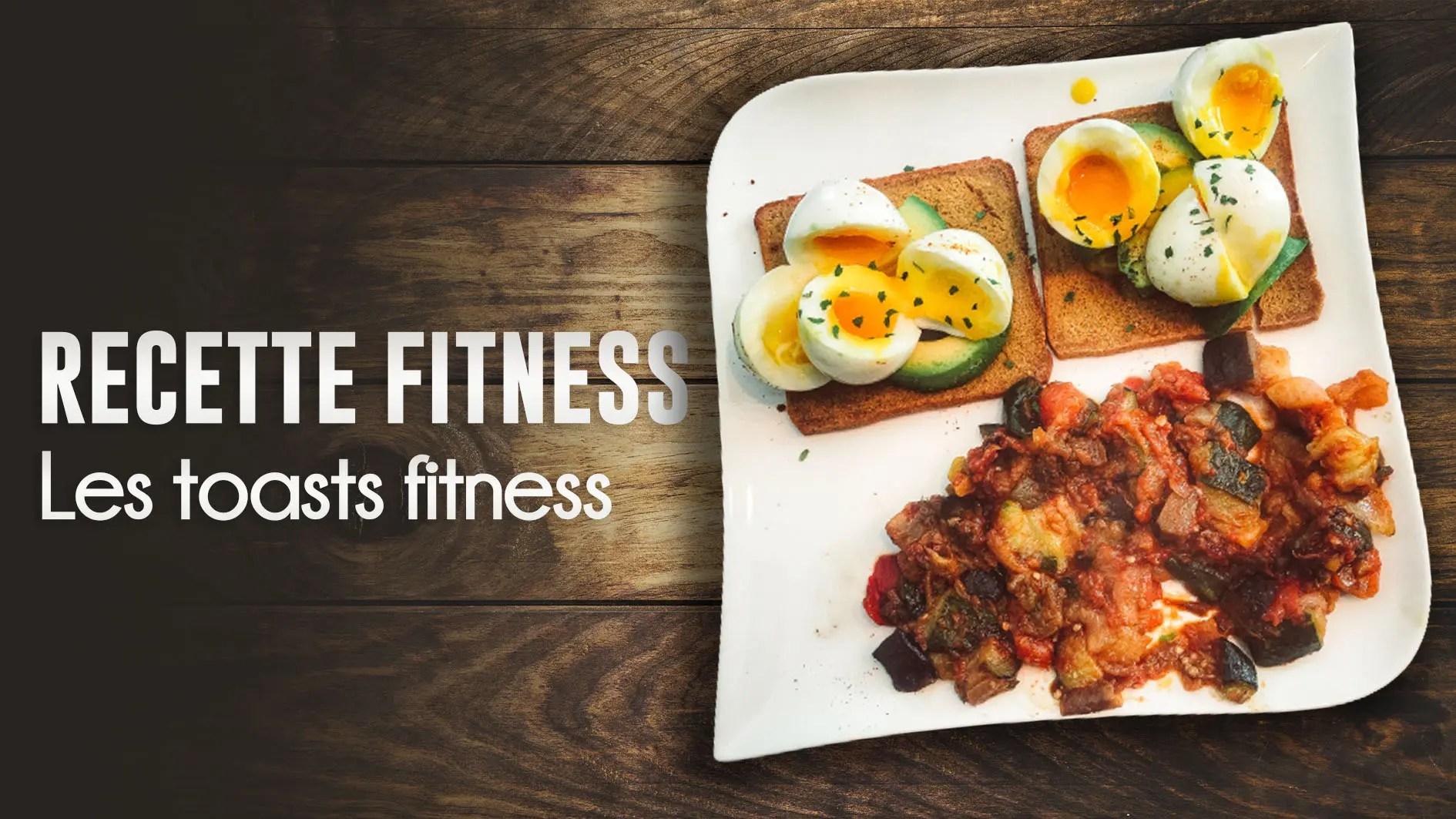 recette toast fitness
