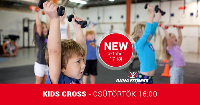 kids cross csoportos edzés gyerekekenek Duna Fitness Mohács