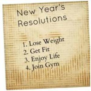 New Year's Weight Loss Resolutions