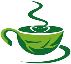 Green coffee served in cup