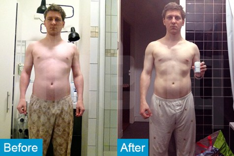 PhenQ review by Ghislain who lost 11 lbs in just 1 month