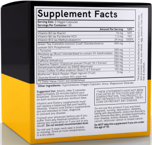 PrimeShred supplements facts