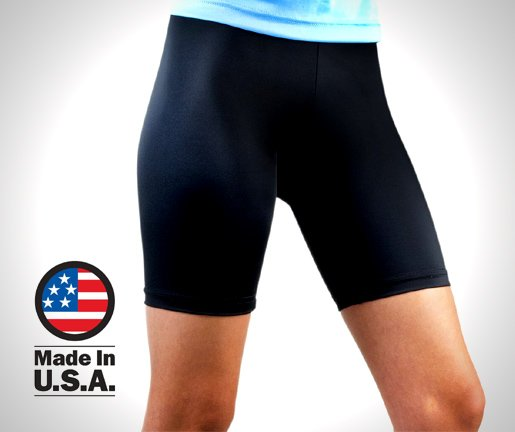 Aero-Tech-Womens-Compression-Bike-Shorts-Classic-Fitness-Short