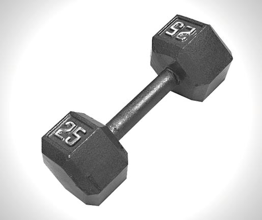 CAP-Barbell-Solid-Hex-Dumbbell