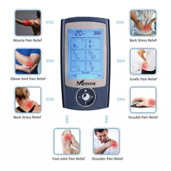 MEDVIVE Tens Unit 1024x1024 - The Best Tens Unit: MEDVIVE Electric Muscle Stimulation Review