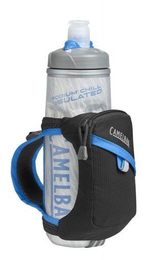 CamelBak Quick Grip Chill Handheld Water Bottle 599x1024 - The 9 Best Handheld Water Bottles For Running in 2020