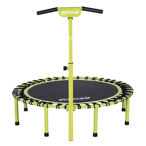 Newan 40 48'' Silent Fitness Mini Trampoline - The Best Trampolines and Rebounders Reviews: Top 10 of 2020