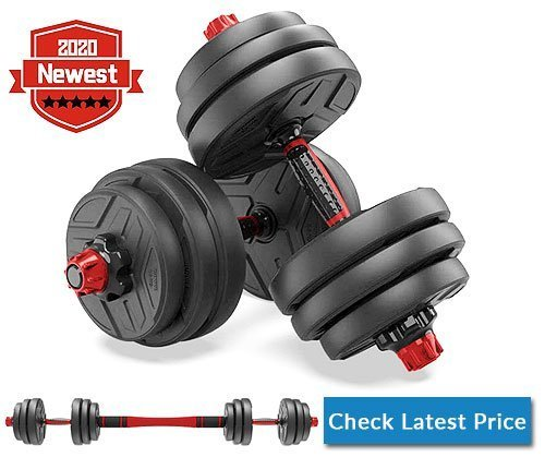 shanchar Adjustable Weights Dumbbells Set for home gym