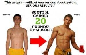 Scott's Body Beast Results 20lbs of muscle