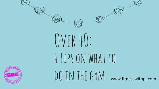 Over 40: 4 Tips On What To Do In The Gym