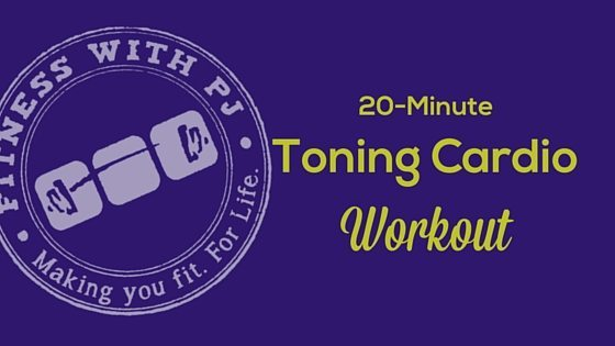 Toning Cardio Workout for Home