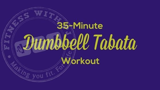 35-Minute Total Body Dumbbell Tabata