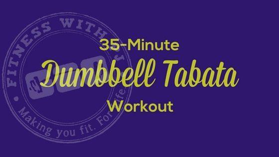 35-Minute Total Body Dumbbell Tabata