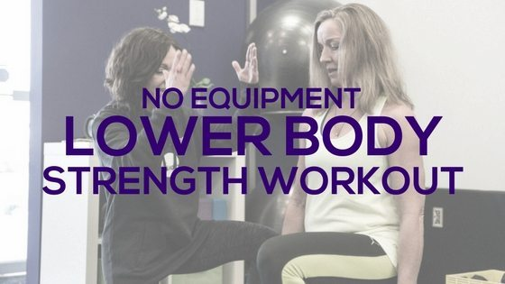 No Equipment Lower Body Workout - Fitness with PJ